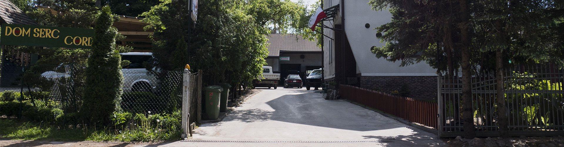 Brama wjazdowa Serwis Borkowscy